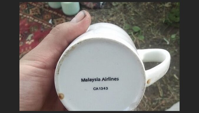 Kaujinieks no Čeboksariem lepojas ar krūzīti no notriektā MH17