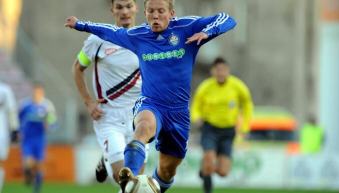 Cauņa atzīts par Latvijas futbola čempionāta septembra labāko spēlētāju