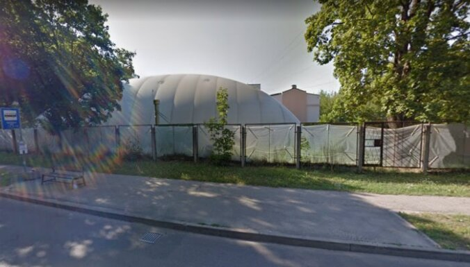 Āgenskalna tenisa kortu vietā varētu celt 'Lidl' lielveikalu