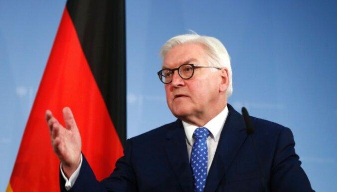 Президент Германии поблагодарил союзников за освобождение от нацизма