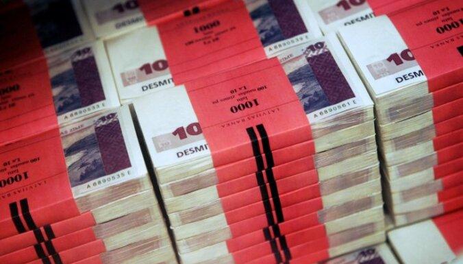 Объем консолидации госбюджета — 122 млн. латов