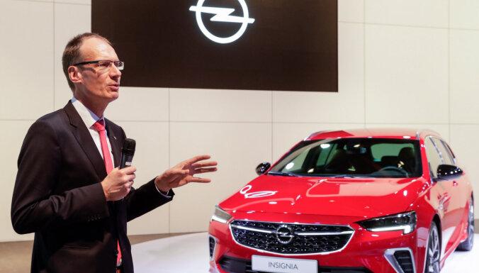 'Opel' Vācijā likvidēs 2100 darbavietas