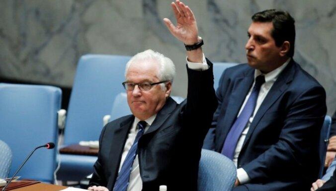 Krievija nobloķē ANO DP mēģinājumu apturēt Alepo bombardēšanu