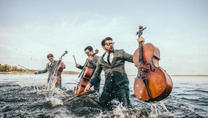 Čellu trio 'Melo-M' izsludina Vecgada lielkoncerta papildkoncertu