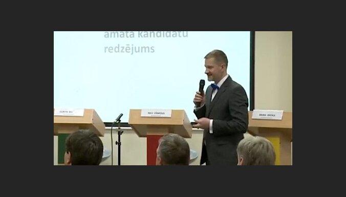 Priekšvēlēšanu diskusija 'Rīgas atslēga - kuras partijas rokās?'. Video