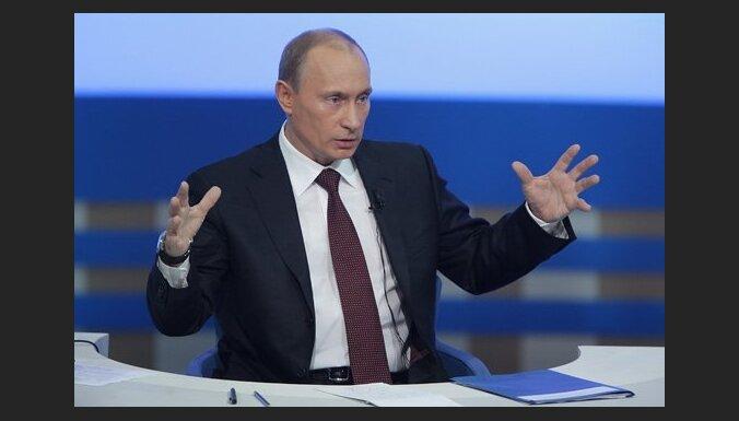 Putins draud ES ar augstākām gāzes cenām, ja bloks nodalīs gāzes piegādes no transportēšanas tīkliem