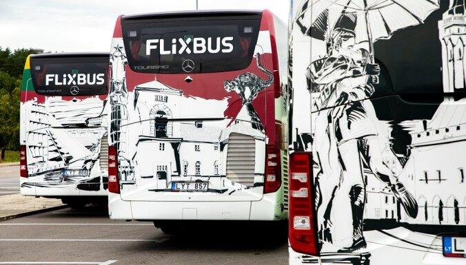 'Flixbus' paziņo par jaunu maršrutu atklāšanu Baltijā