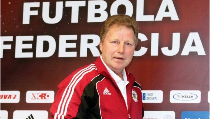 Latvijas futbola izlases galvenā trenera Starkova alga – 75 000 eiro gadā