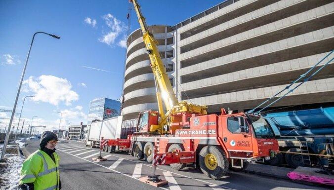 ФОТО: Впервые в Европе. В Эстонии на крыше торгового центра установят колесо обозрения