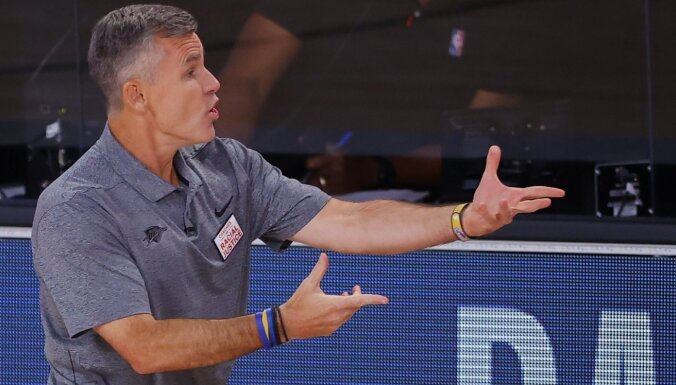 'Bulls' galvenā trenera amatā ieceļ Donovanu