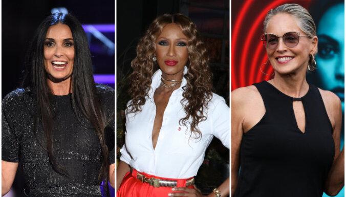 Satriecoši valdzinošas pēc 55: kā slavenas sievietes saglabā jaunību