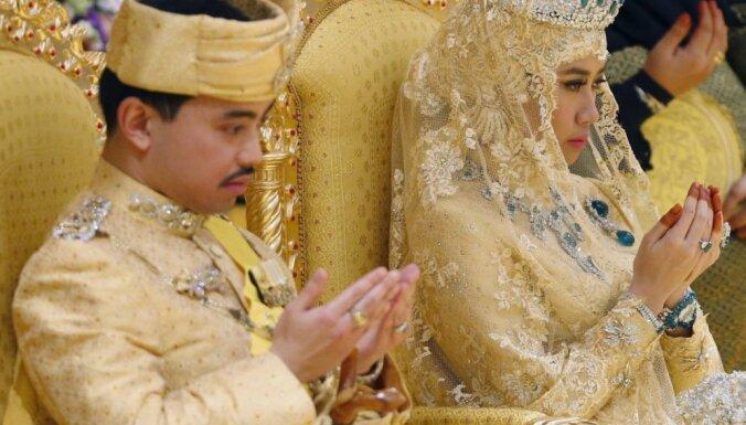 Foto: Kā precas Brunejas sultāna dēls