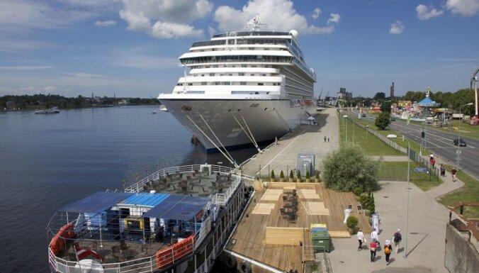Цель Рижского порта: удвоить количество круизных судов и их пассажиров