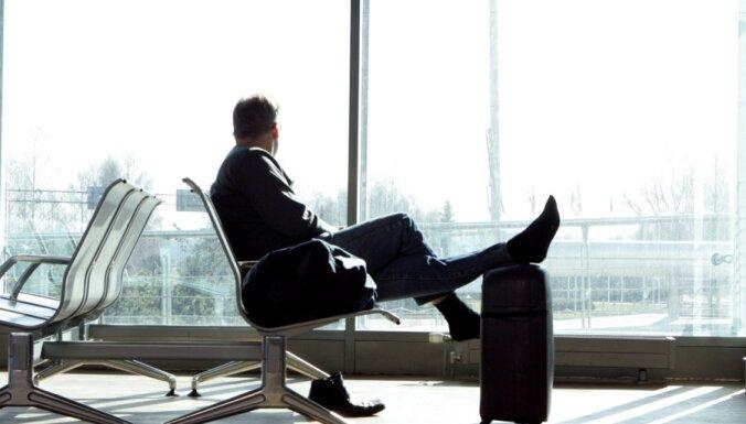 Reisu aizkavēšanās dēļ Maskavas lidostās izceļas nekārtības