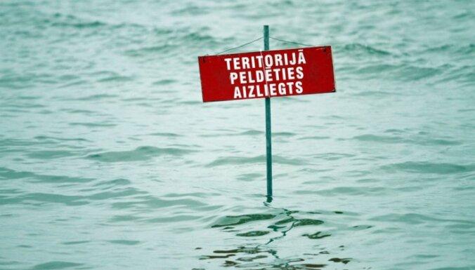 Температура воды в водоемах - от +15 до +18 градусов