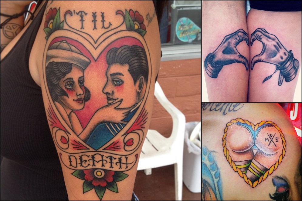 25 идей для татуировок в форме сердца ко Дню Святого Валентина