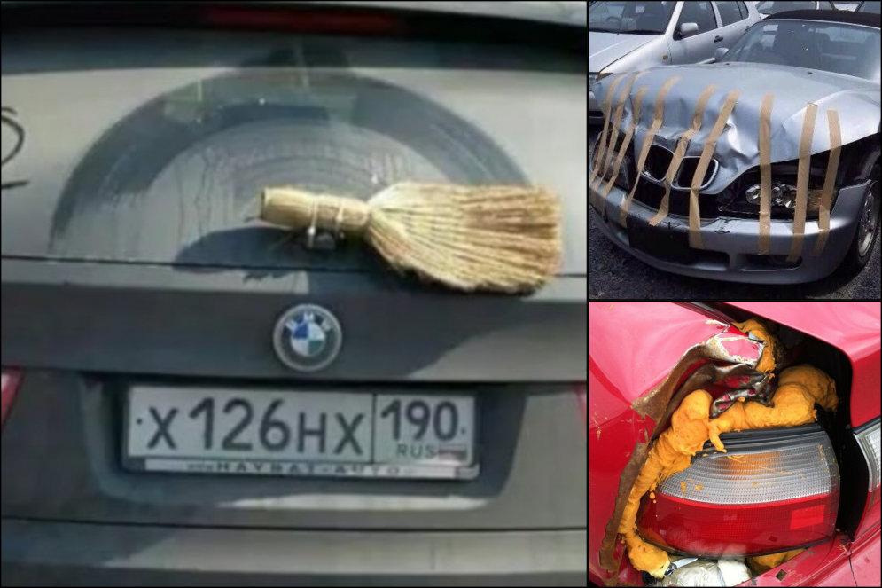 """18 фото """"ремонта"""" авто, которые легко поднимут домкрат и настроение каждого механика"""