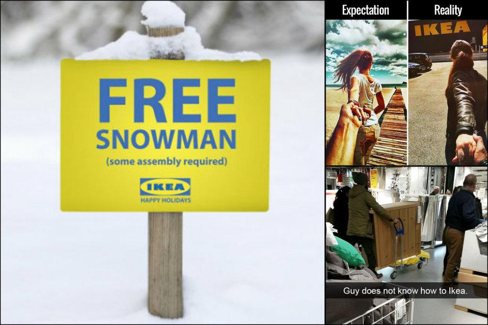15 шуток про IKEA, которые поймет каждый, кто уже побывал в IKEA