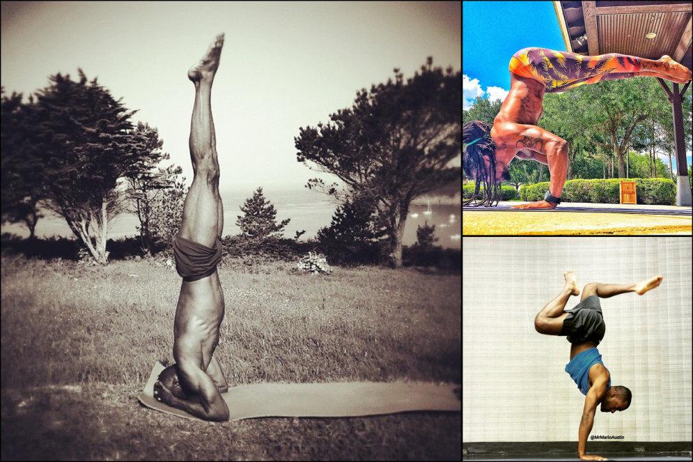 """17 фото мужчин, """"делающих йогу"""", от которых у тебя пересохнет во рту"""