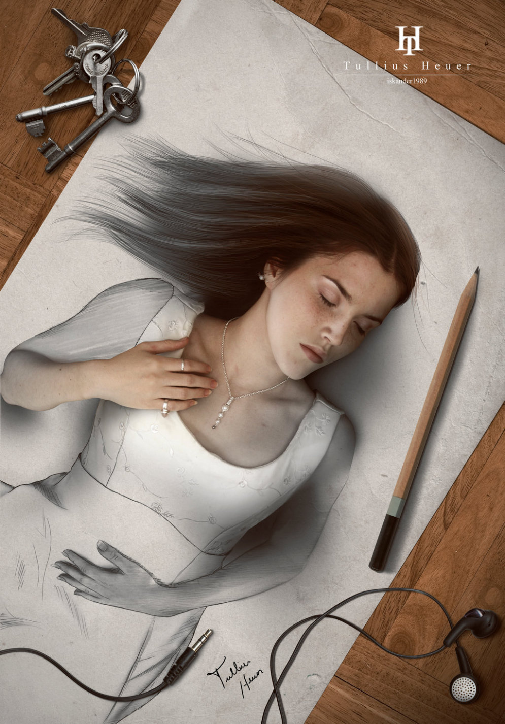 """Бразильский художник рисует реалистичные картины, которые """"выпрыгивают"""" на тебя"""