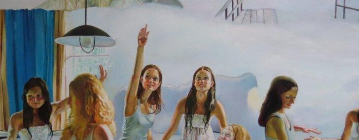 Liepājā atklās retrospektīvu Maijas Tabakas gleznu izstādi