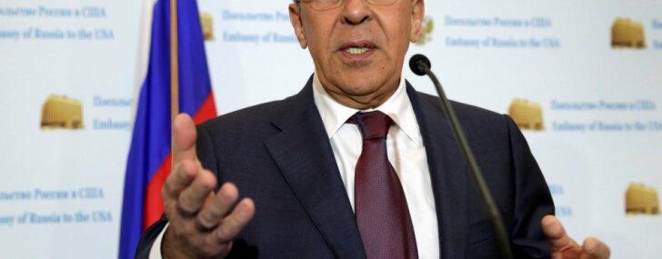 Krievijas iejaukšanās ASV vēlēšanās esot muļķības, skaidro Lavrovs