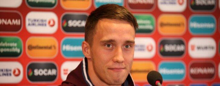 Dāvis Ikaunieks ar UEFA Eiropas līgas vienību 'Jablonec' parakstījis trīs gadu līgumu