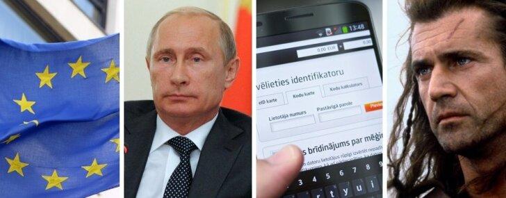 Putina 'kara plāns', Skotija krustcelēs, internetbankām pārmaiņas un labais Ušakovs
