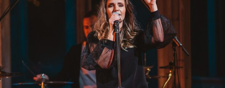 Foto: Marta Grigale Fon Stricka villā prezentē jauno albumu