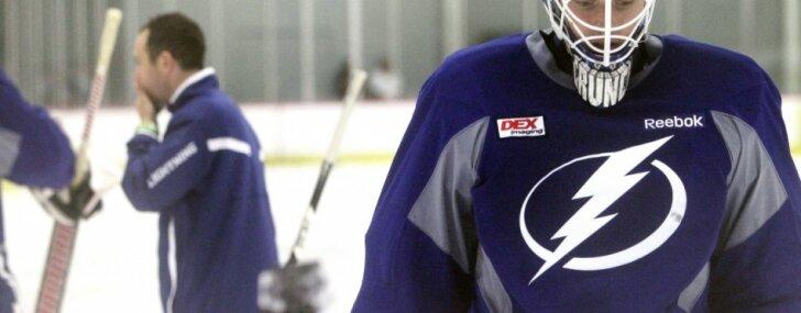 Gudļevskis izsaukts uz NHL komandu 'Lightning'