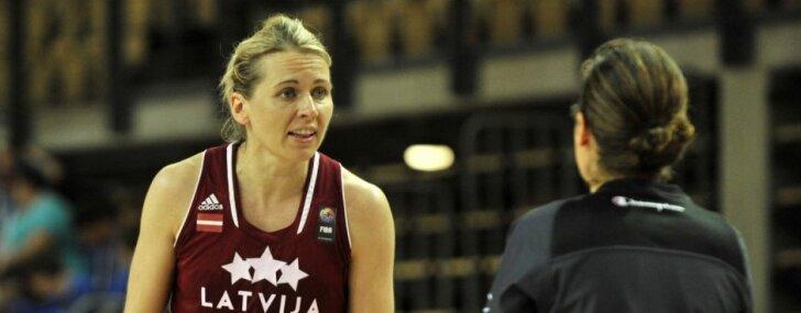 Latvijas sieviešu basketbola zvaigzne Jēkabsone-Žogota paziņo par karjeras beigšanu