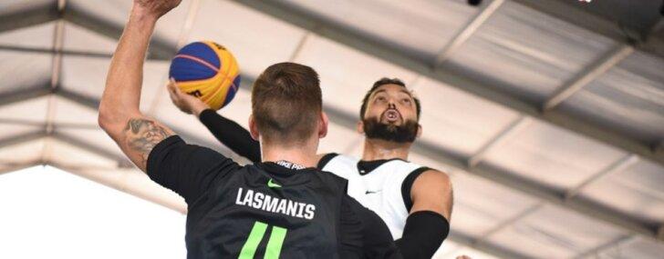 Latvijas 3x3 basketbolisti Indijā aizsniedzas līdz pusfinālam Pasaules tūres posmā