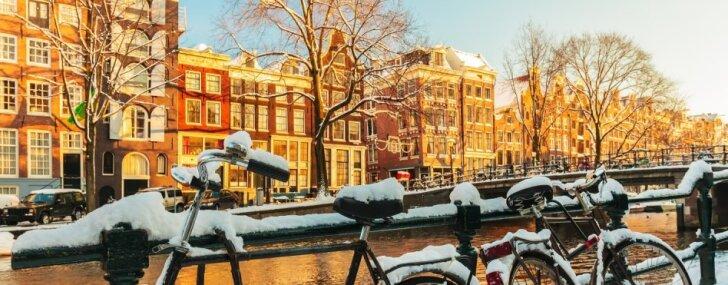 10 iemesli, kāpēc doties uz Amsterdamu ziemas laikā