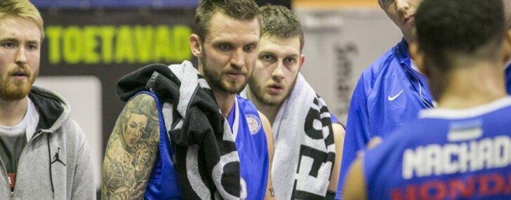 Foto: Šķēles 'Kalev/ Cramo' zaudē otrajā Igaunijas čempionāta finālsērijas mačā