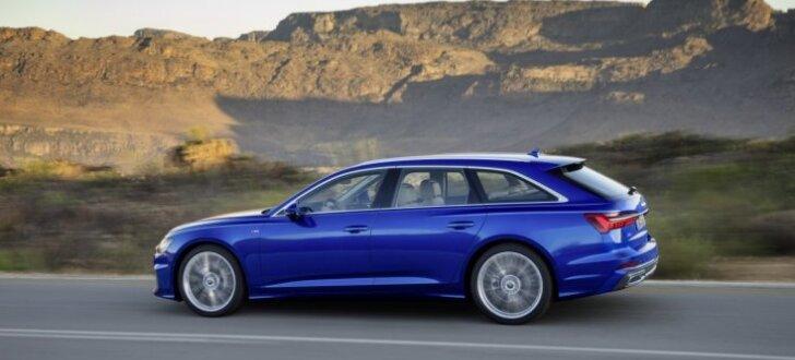 'Audi' parādījis jauno universāli 'A6 Avant'