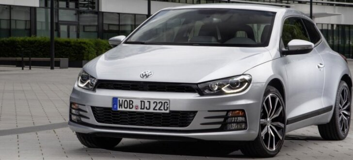VW pārtraucis 'Scirocco' modeļa ražošanu