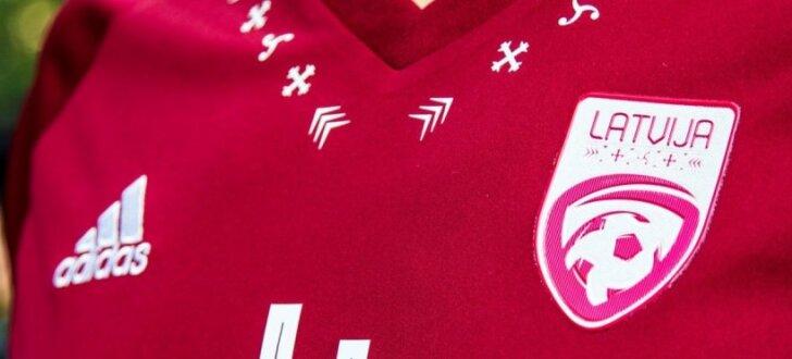 Prezentēta Latvijas futbola izlases jaunā identitāte