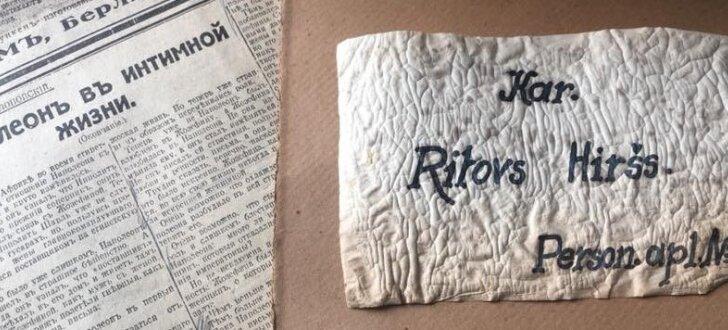 Mīlas vēstules, matu cirtas un fotogrāfijas – atradumi ebreju slēpnī Maskačkā