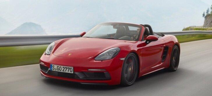 'Porsche Boxster' un 'Cayman' ieguvis jaudīgo GTS versiju