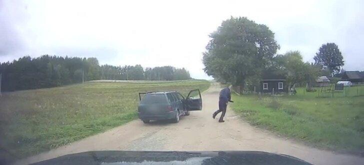 Video: Lietuvā kontrabandistus aiztur kā spraiga sižeta filmās