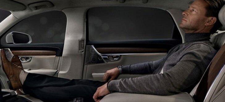 'Volvo S90' limuzīns īpaši greznā 'Ambience' versijā