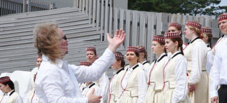 Svinīgā ceremonijā atklāts Mežaparka Lielās estrādes pirmais atjaunošanas posms