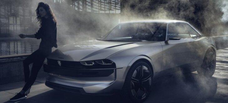'Peugeot' izstrādājis bezpilota elektroauto konceptu 'e-Legend'