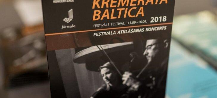 Jūrmalā atklāts ikgadējais 'Kremerata Baltica' festivāls