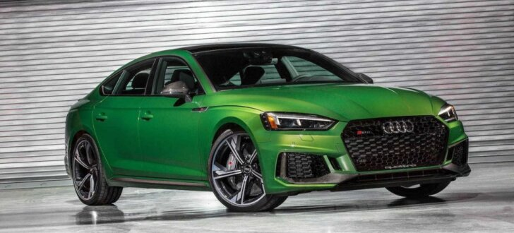 Jaunais 'Audi RS 5 Sportback' piedzīvo pirmizrādi Ņujorkā