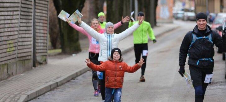 Foto: Bībers un Ronimoiss ceturto reizi uzvar Rīgas pavasara rogainingā