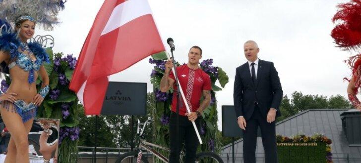 Foto: Latvijas olimpiskās komandas prezentācija