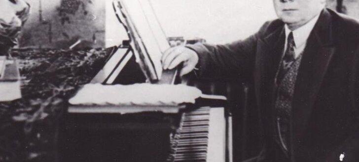 Arhīva foto: komponistam un diriģentam Jāzepam Mediņam – 140