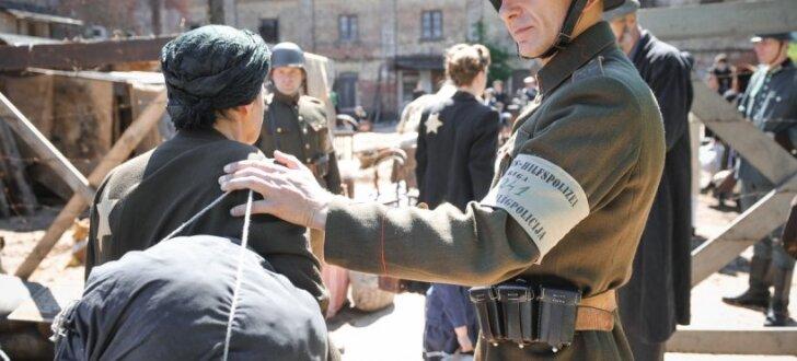 ФОТО: В Риге проходят съемки фильма о Жанисе Липке
