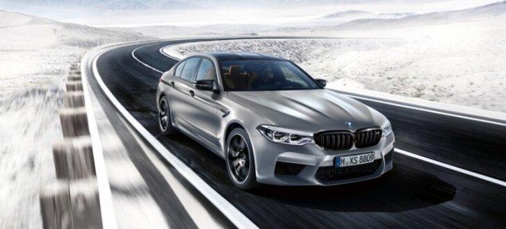 625 zirgspēku jaudīgā 'BMW M5 Competition' versija